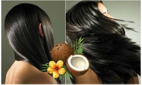 les bienfaits de l'huile de coco sur la chevelure