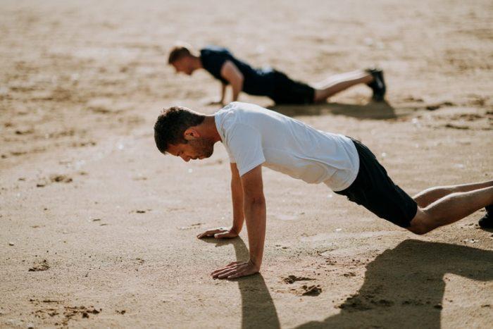 manque testostérone - hommes sport