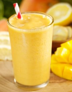 smoothie brule graisse mangue orange