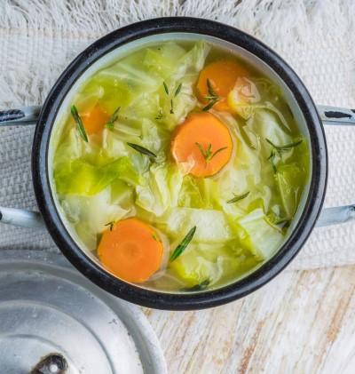 soupe au choux recette minceur